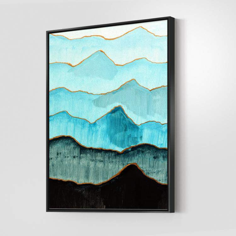 Turquoise Mountains Canvas Set