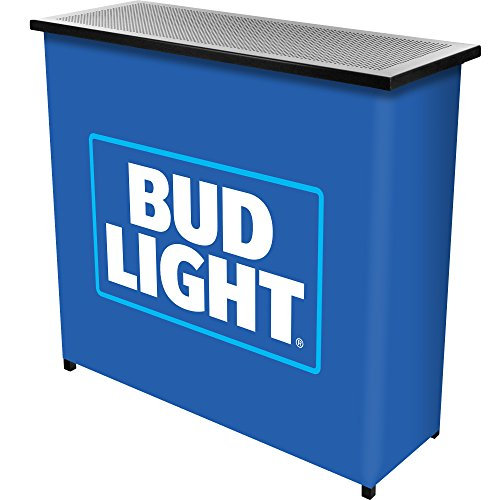 Bud Light Two Shelf Portable Bar with Case