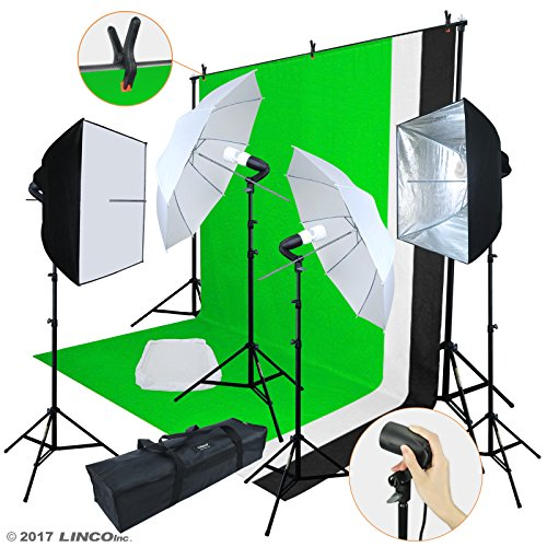 Photo Video Studio Light Kit