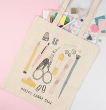 Load image into Gallery viewer, Dainty Forest | Makers Gonna Make Tote