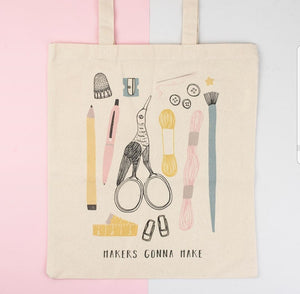 Dainty Forest | Makers Gonna Make Tote