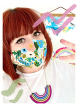 Load image into Gallery viewer, Handmade Adult Sized Face Mask | Free UK Postage and Packing