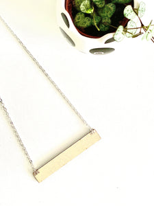 NEW Neutral Tape Measure/Ruler Wooden Necklace