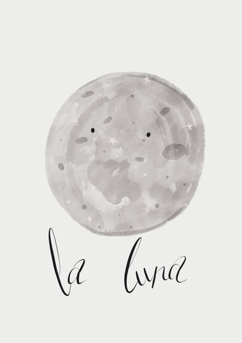 La Luna Print | 2 Sizes available
