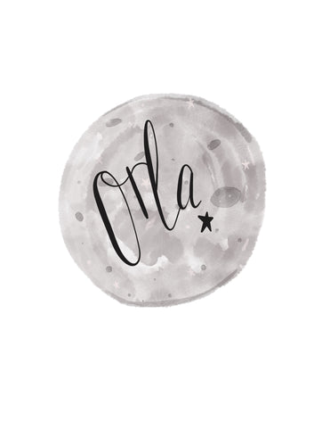 Personalised Luna Print