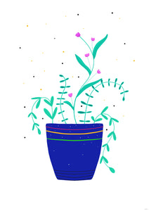 Potted Plant Print | 2 Sizes available
