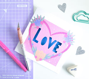 PRE-ORDER | Craft Kit | Papercraft | Limited Edition | Valentine's Day