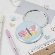 Load image into Gallery viewer, Dainty Forest | Butterfly Pocket Mirror