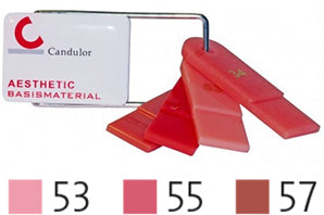 Candulor Aesthetic colour set easy mini shade Guide, 1 pc