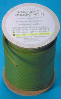Bredent quadro wax profile, 250g green