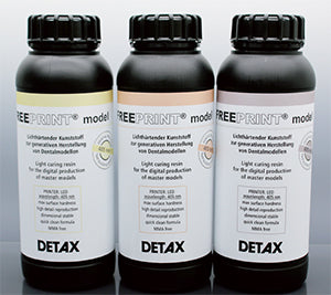 Detax Freeprint® model UV 378-388 nm and model 405 nm, 1000 g