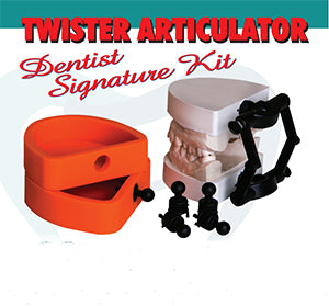 InventDental Twister Kit for Dentist, 1 Set