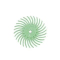 Lukadent Radial bristle disc Ø 19mm light green grit 1 micron, 4 pcs