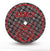 Motyl separating discs for steel, alloys and noble metals Size 22/0.2, 20 pcs, red