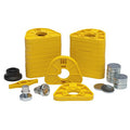 SAM MPS mounting plates system, starter kit yellow, 1 Kit