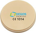 Degos L-Temp Multicolour PMMA for Open CAD/CAM systems, 1 pc