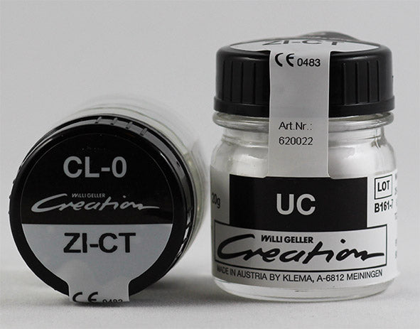 Creation ZI-CT / Clear (CL-O, UC), 20g or 50g