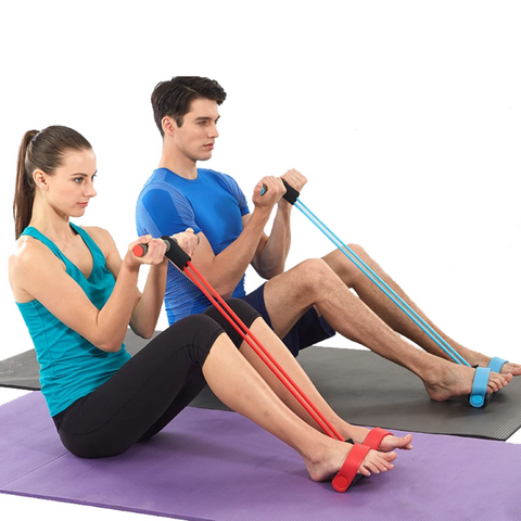 Resistance Bands With Paddles