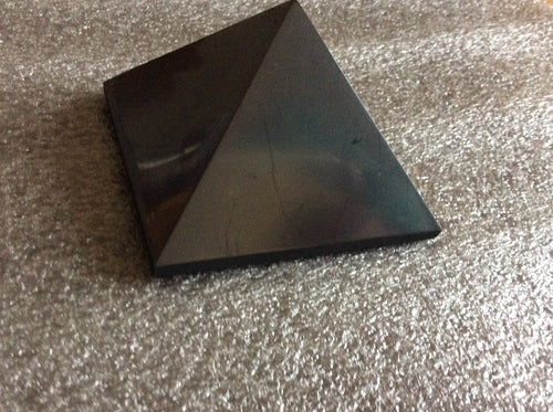 Shungite Pyramid 7cm - Powerful Protection from EMF