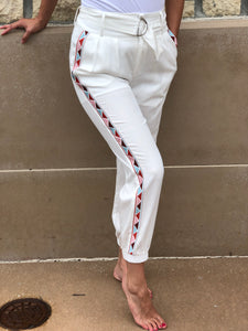 high waisted jogger pant
