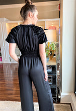 Load image into Gallery viewer, Smocked Waist Jumpsuit