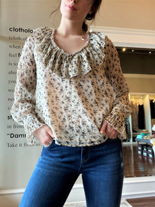 Ruffled Detailed Blouse
