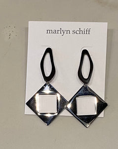 Marlynn Schiff Silver Contemporary Earrings