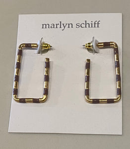 Marlynn Schiff Rectangular Earrings