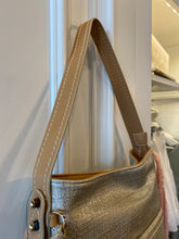 Load image into Gallery viewer, Sondra Roberts Small Metallic Tote