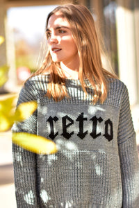 RETRO sweater