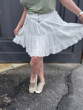 Load image into Gallery viewer, Eyelet Skirt