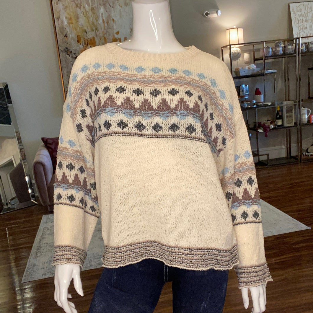 Aztec Designed Sweater