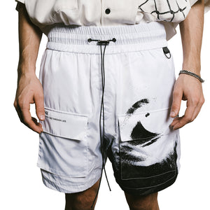 WIRED EYES Utility Shorts - WHITE