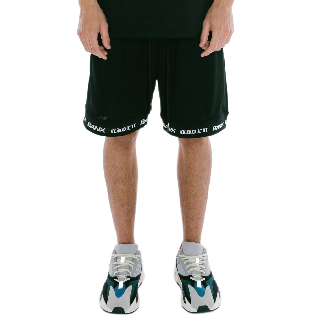 ADORN X BANX SHORTS BLACK