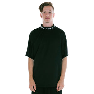 ADORN X BANX SHIRT BLACK - NO COLLAR