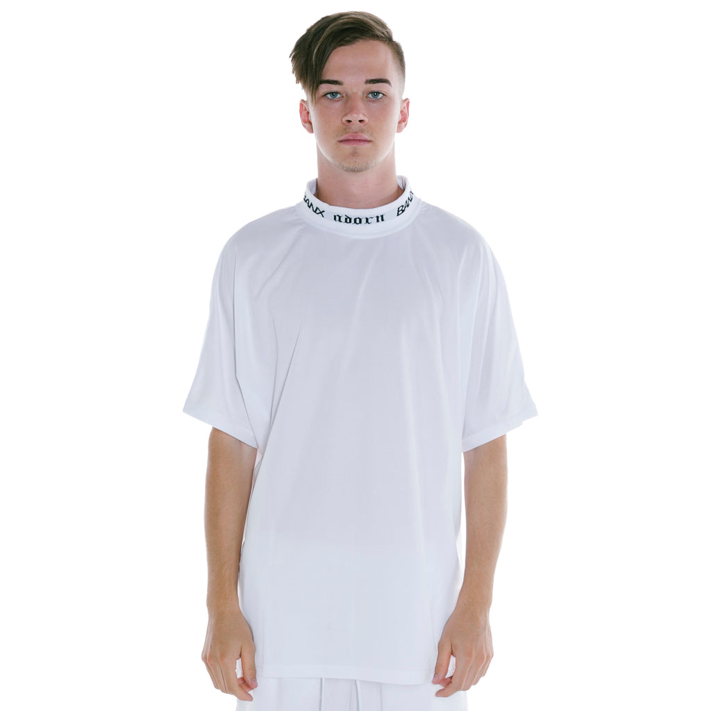 ADORN X BANX SHIRT WHITE - NO COLLAR