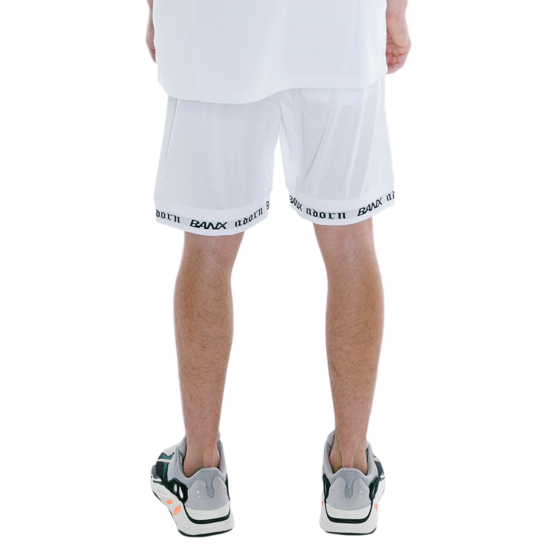 ADORN X BANX SHORTS WHITE