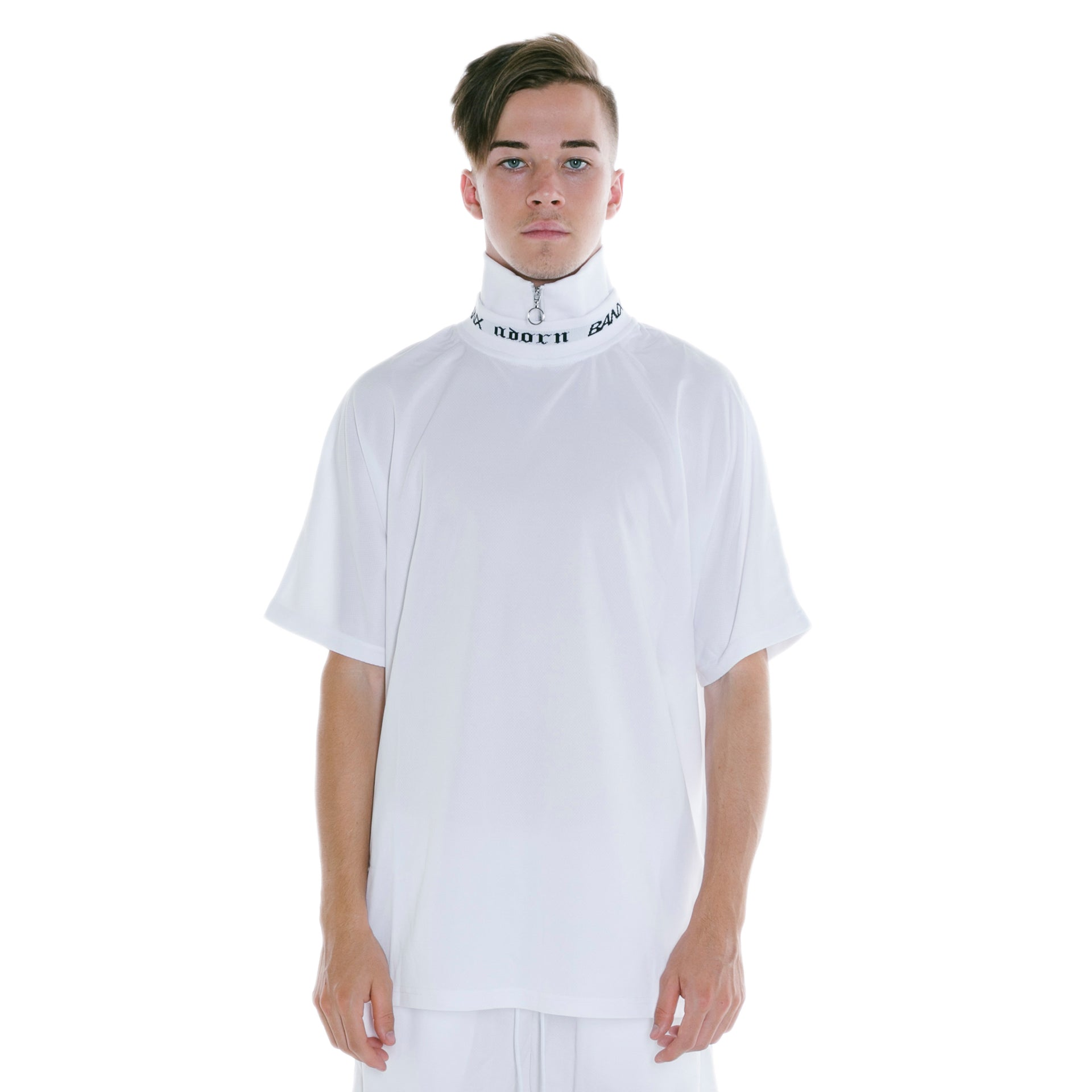 ADORN X BANX SHIRT WHITE - WITH COLLAR
