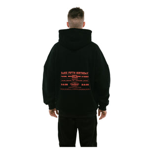 """FIVE YEARS OF THE VISION"" Oversized Hoodie"