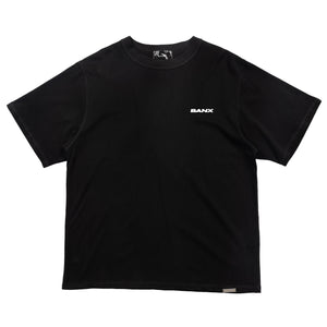 Intrepid Logo Oversized Shirt - BLACK