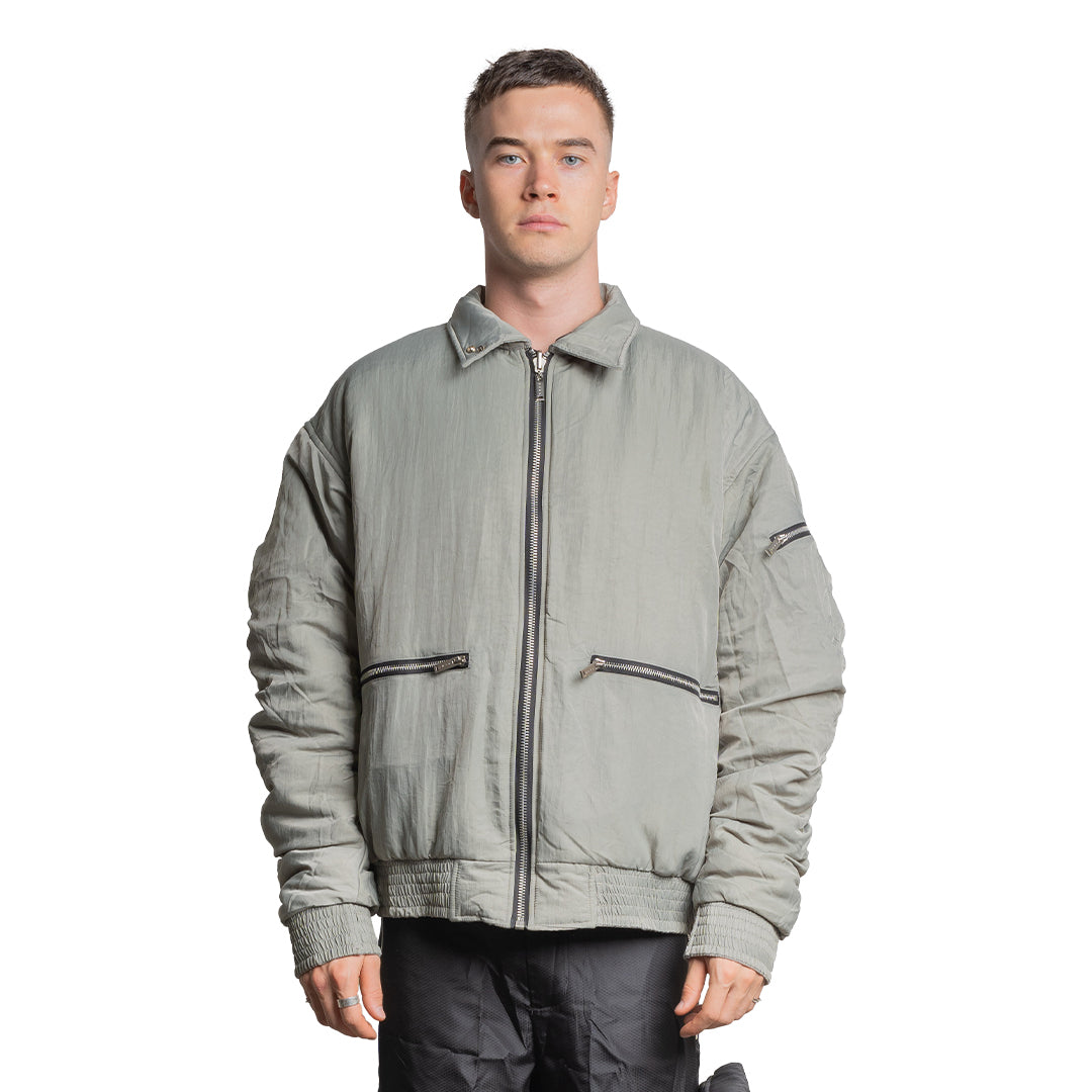 CHARGED ATF-1 Reversible Flight Jacket - Seagrass