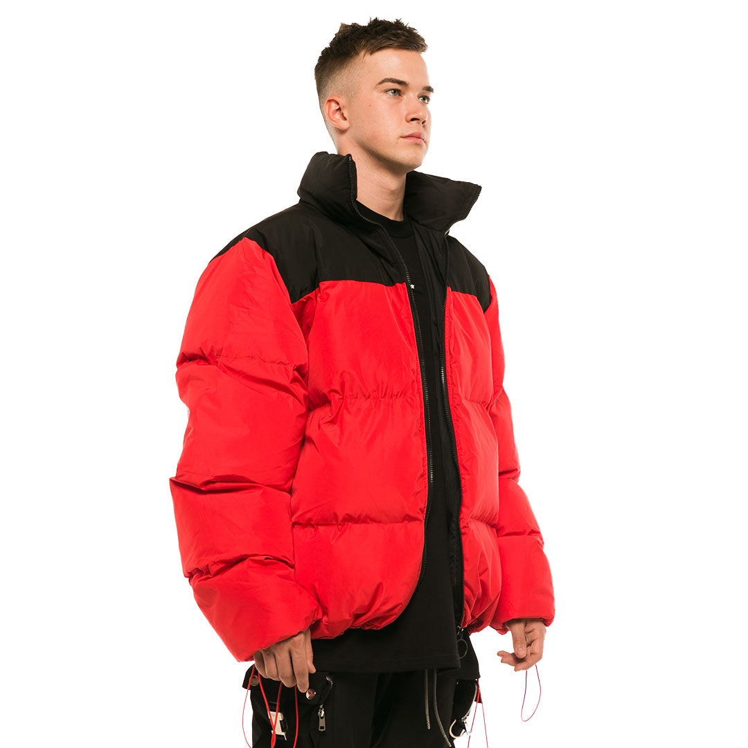 REDLINE - PUFFER JACKET RED