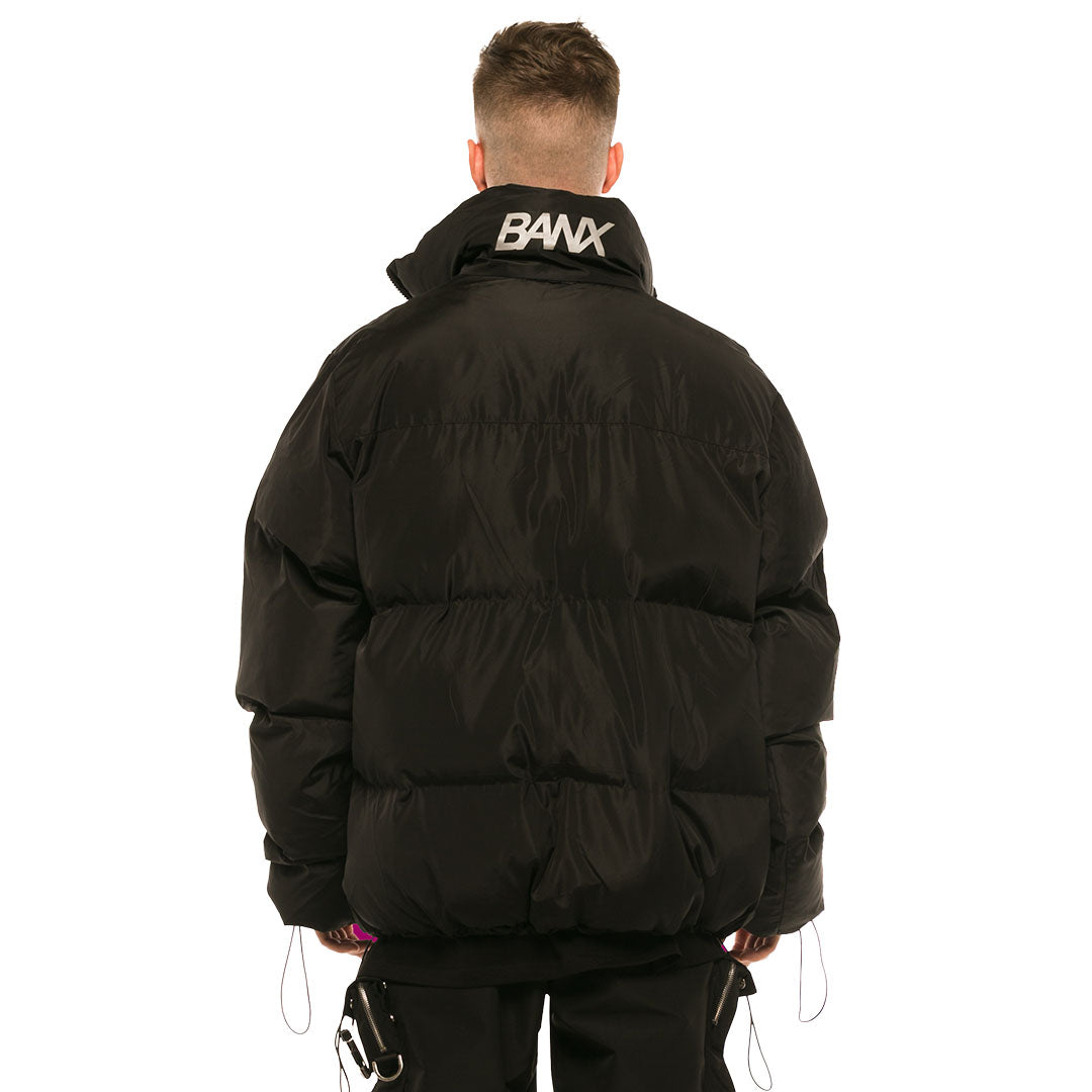 REDLINE - PUFFER JACKET BLACK