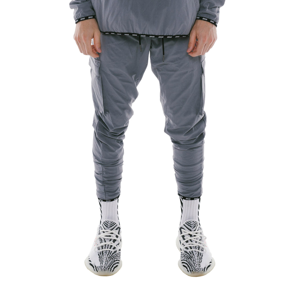 TRACKPANTS - GREY (REVERSIBLE)