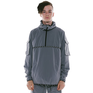 TRACKJACKET - GREY (REVERSIBLE)