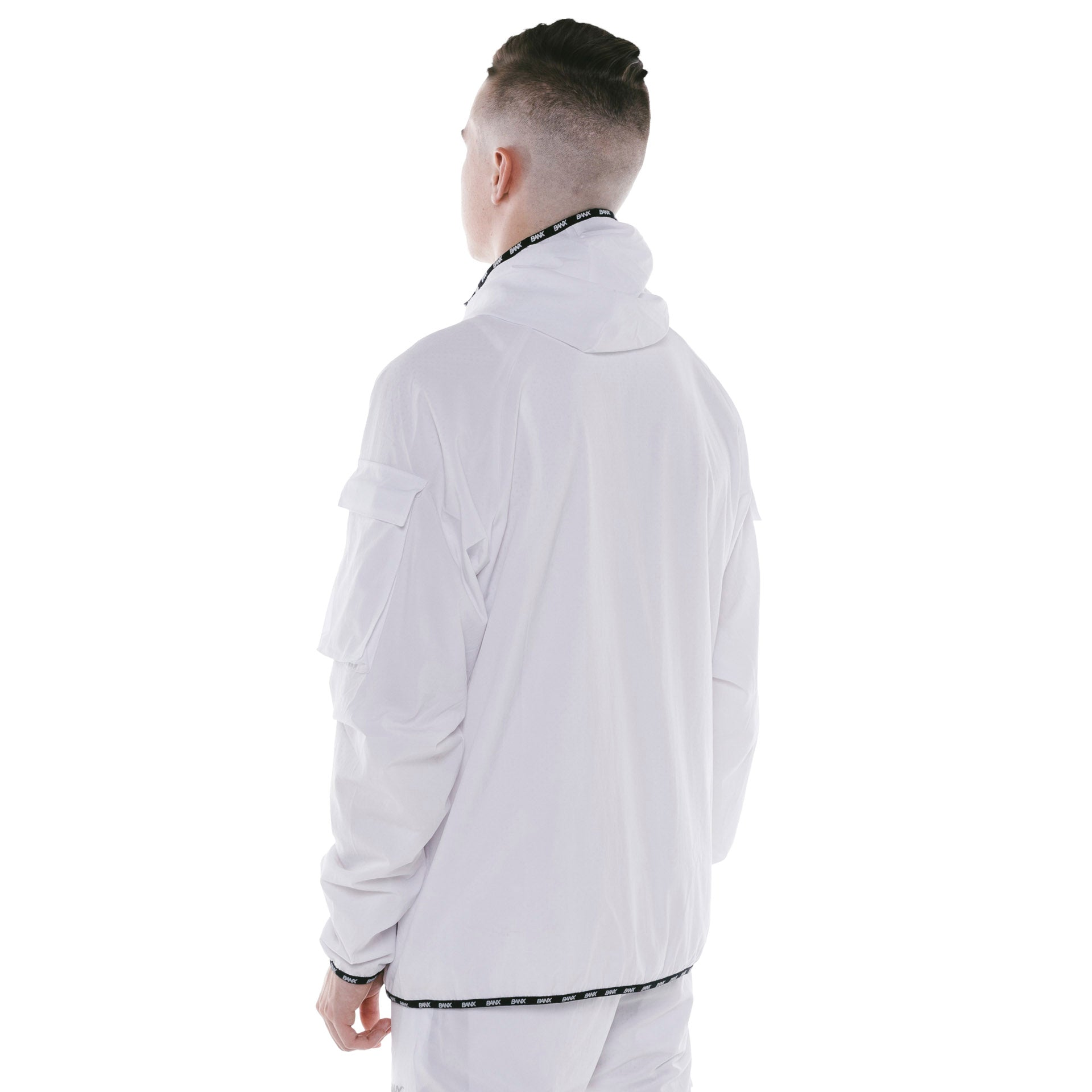 TRACKJACKET - WHITE (REVERSIBLE)