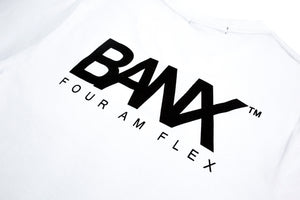 FOUR AM FLEX TEE - WHITE