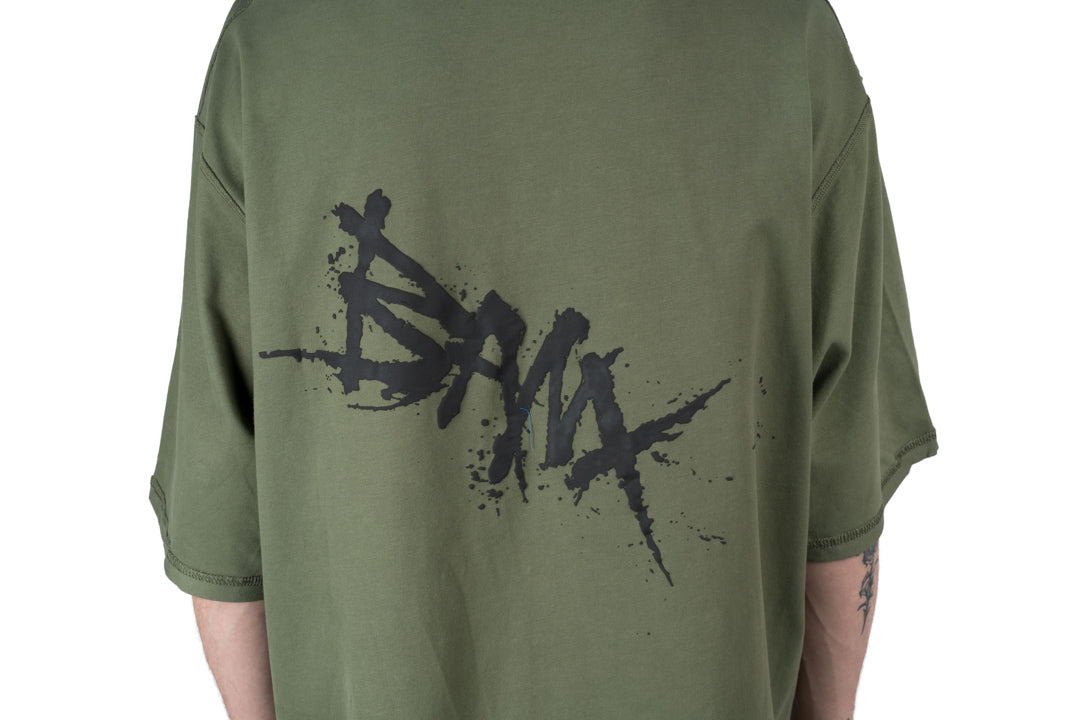CHARGED Oversized Shirt - Moss Green