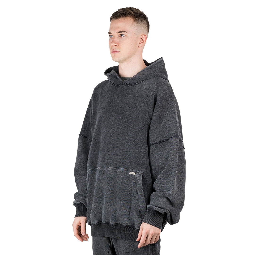 CHARGED Oversized Hoodie - Vintage Washed