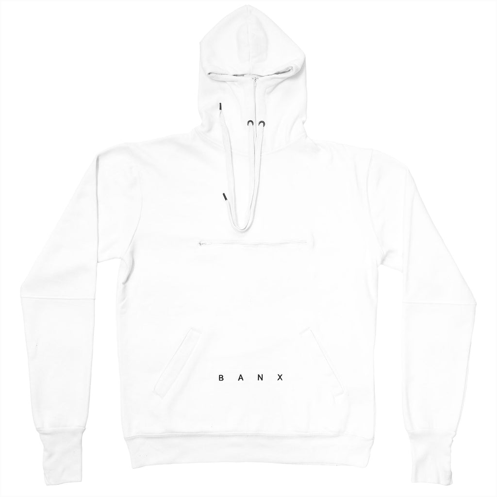 STEALTH HOODIE - WHITE